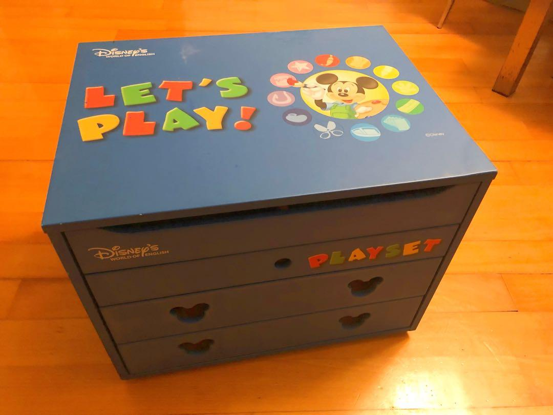 🌈包運 | Disney Let's Play Wooden Box | 迪士尼兒童木箱