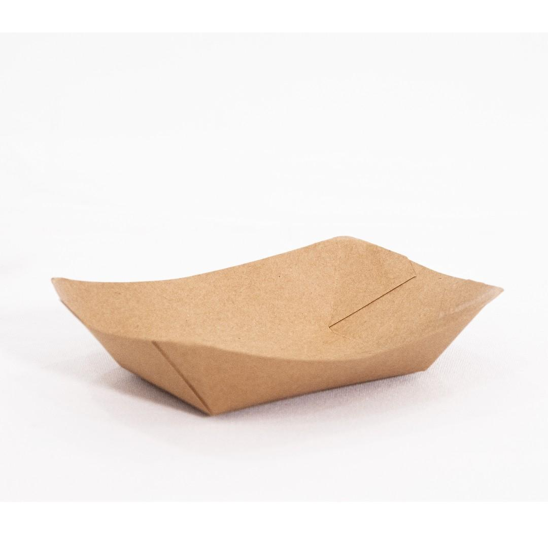Disposable Food Container (Boat-Shaped)