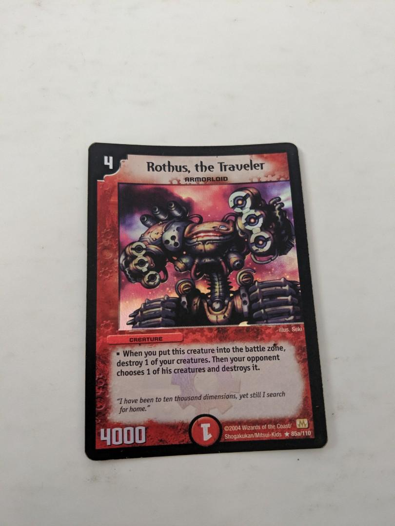 HOLO 1x Duel Masters Rothus the Traveler 85a//110 NM