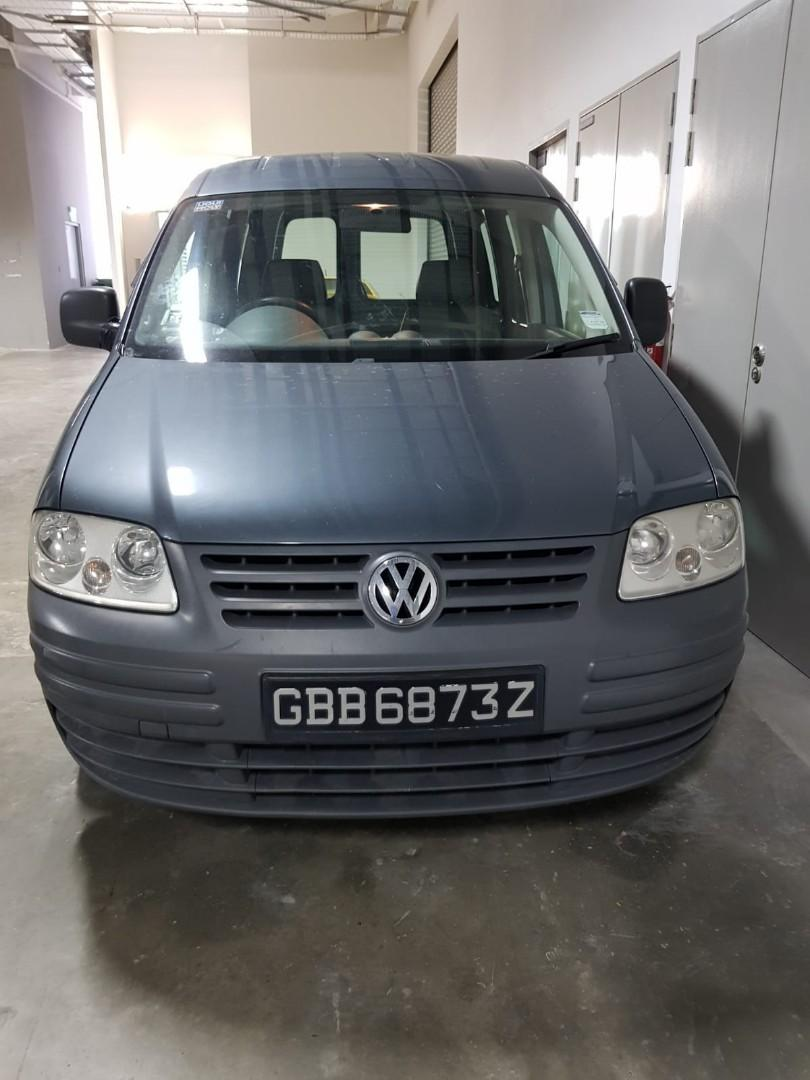 For Rent VW Caddy Automatic Van !