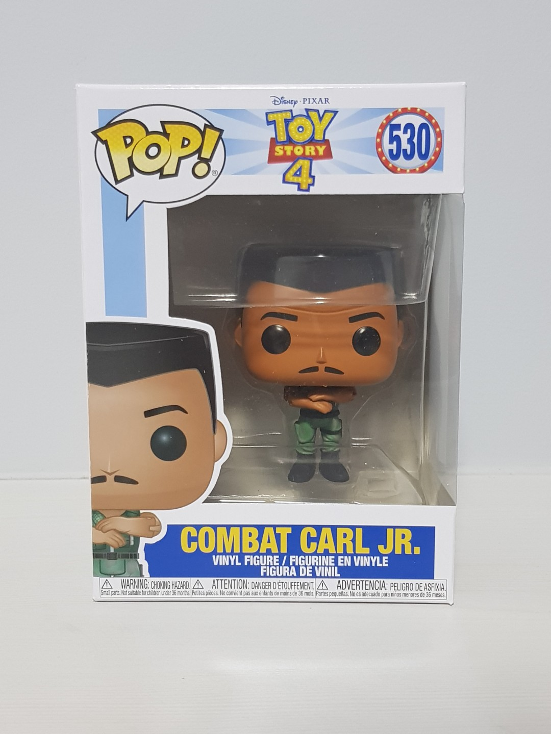 Toy Story 4 Funko Pop #530 Exclusive Combat Carl Jr