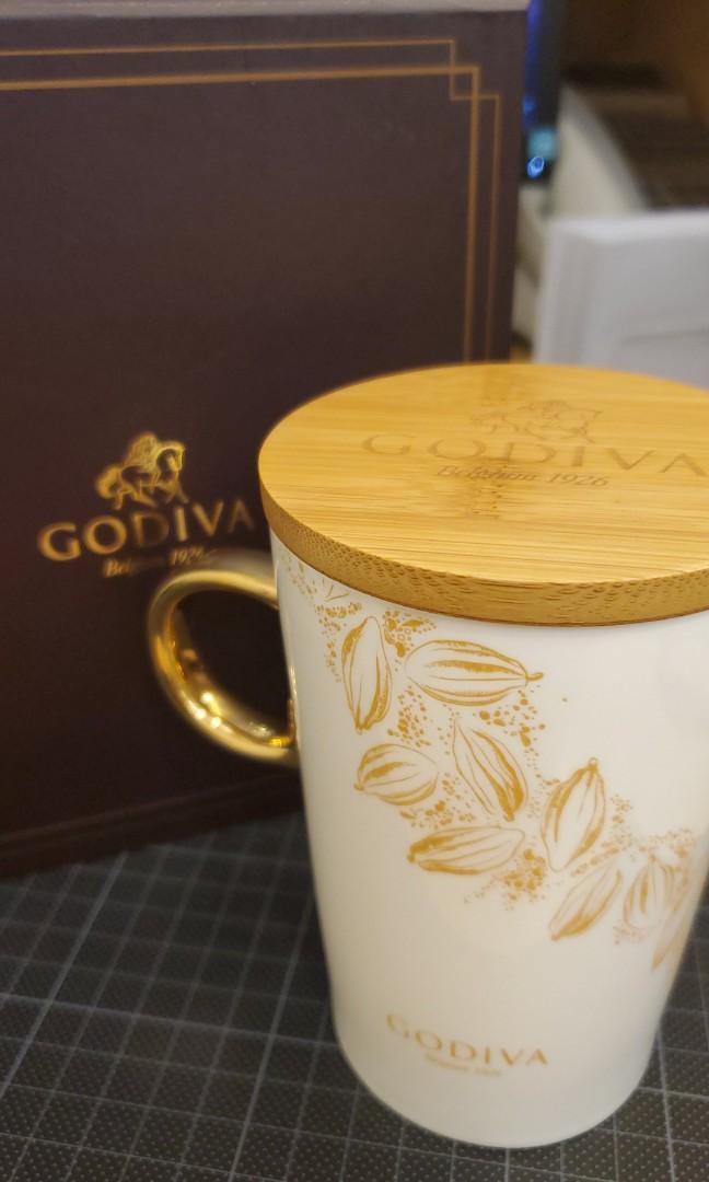 Godiva 聖誕版木蓋杯