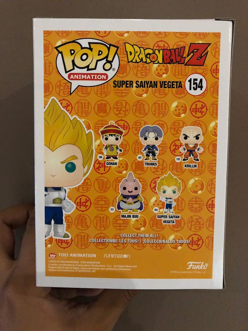 HOT TOPIC EXCLUSIVE - SUPER SAIYAN VEGETA (RED CHROME) - FOR SALE - UNOPENED - OG BOX