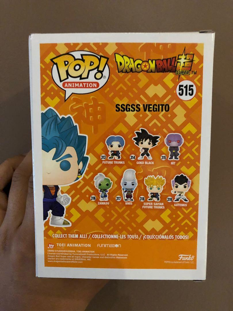 HOT TOPIC EXCLUSIVE- SSGSS VEGITO - FOR SALE - UNOPENED - OG BOX