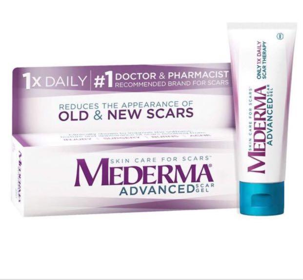 Instock Mederma Advanced Scar Gel for Old & New Scars from Acne, Cuts, Surgery & Burn