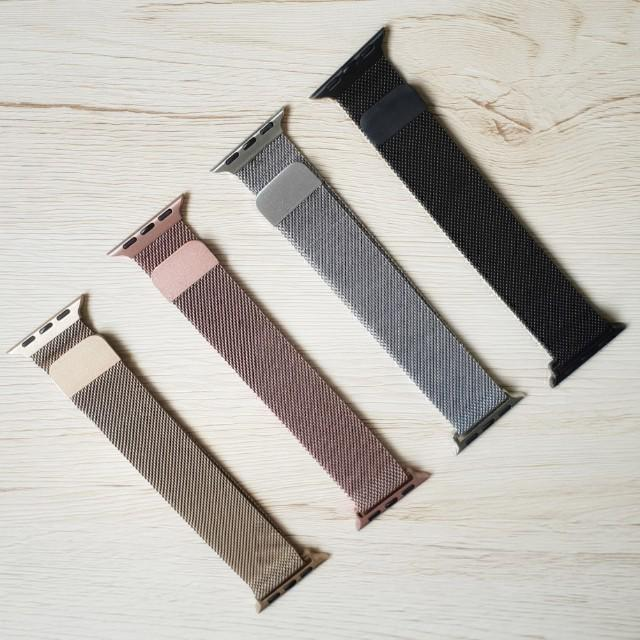 INSTOCKS Assorted Designs Apple Watch Bands, sportd band, sports loop, milanese loop, leather strap for apple watch series 1-4, 38mm-44mm