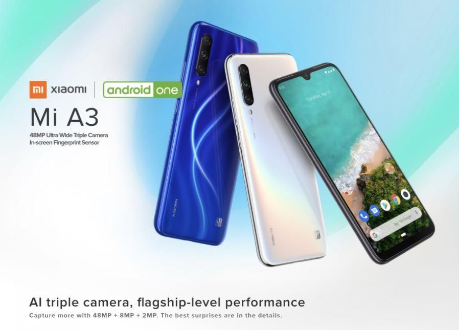 Mi A3 (Android One) 4/128GB and 4/64GB with Local Warranty