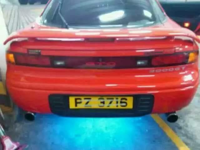MITSUBISHI GTO1992-1993火红色D1包圍香港少有3首可交换