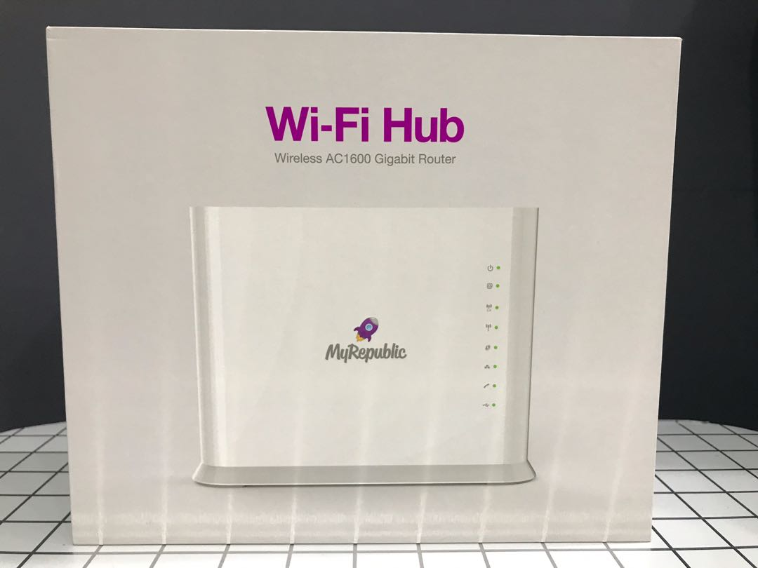 MyRepublic Wi-Fi Hub AC1600 Router (Comparable to ASUS RT-AC66U)