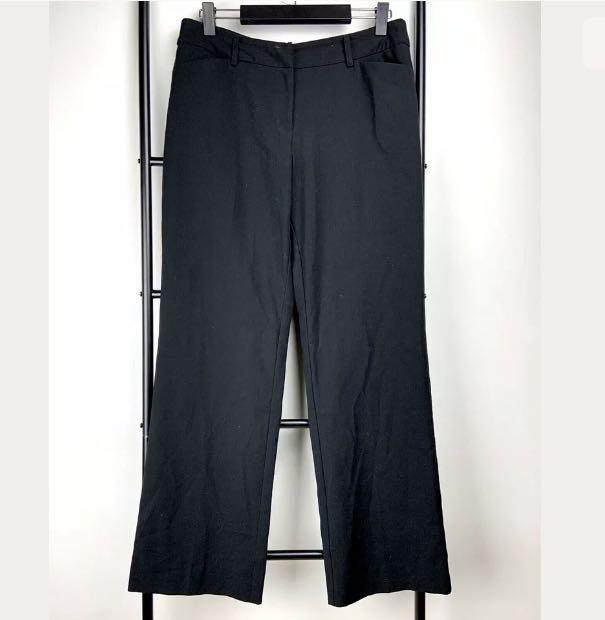 Portmans 10 black basic dress trousers pants smart casual work career