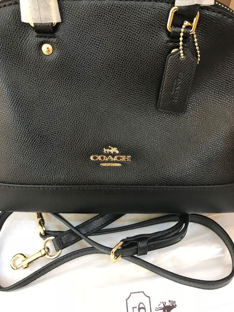 Ready Stock Authentic coach 57555 women mini Sierra Crossbody use handbag