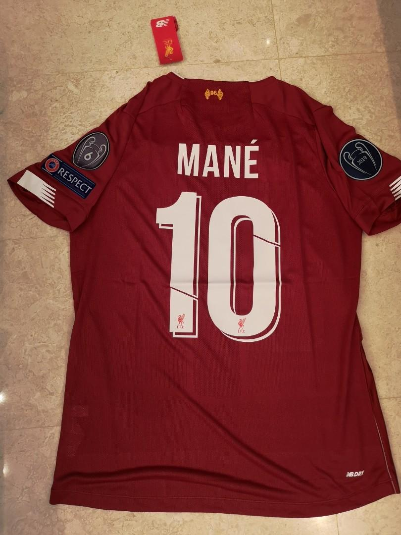 save off 133f4 02238 SIZE S - IN STOCK - MANE] Liverpool 2019/2020 HOME Jersey ...