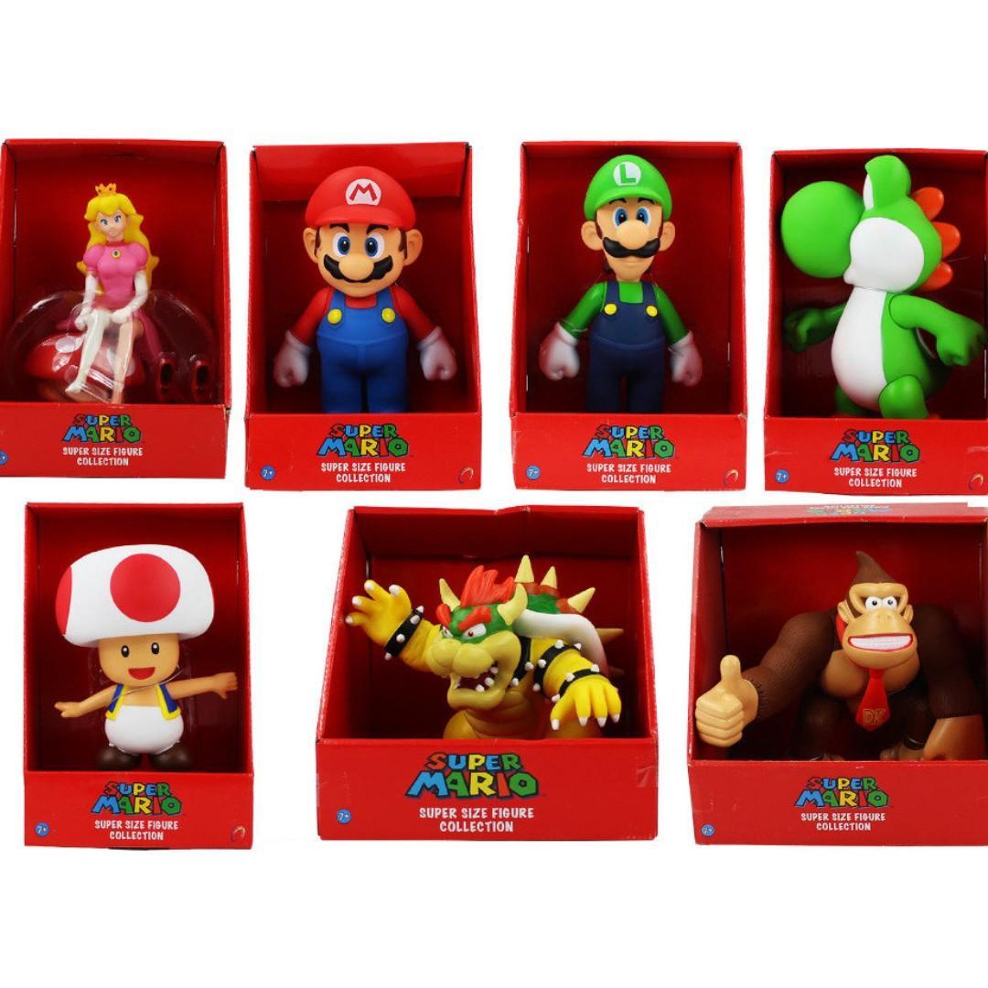 Super Mario Bros Brothers Luigi Princess Peach Yoshi King Koopa
