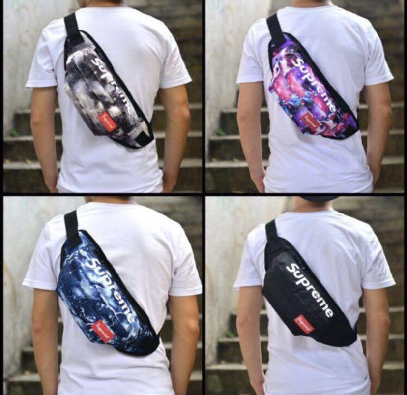 33cf06ebf8fb 🔥Supreme🔥Women Men Korean Fashion Waist Bag Sling bag Fanny pack ...