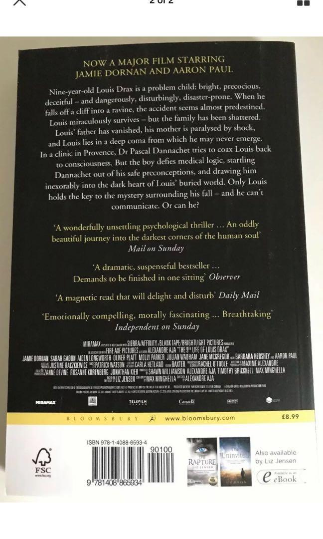 The 9th Life Of Louis Drax - Liz Jensen - Book