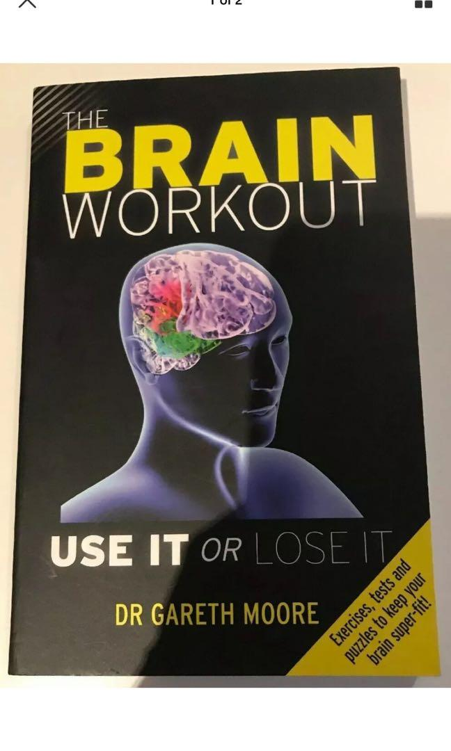 The Brain Workout - Use It Or Lose It - Dr Gareth Moore - Book