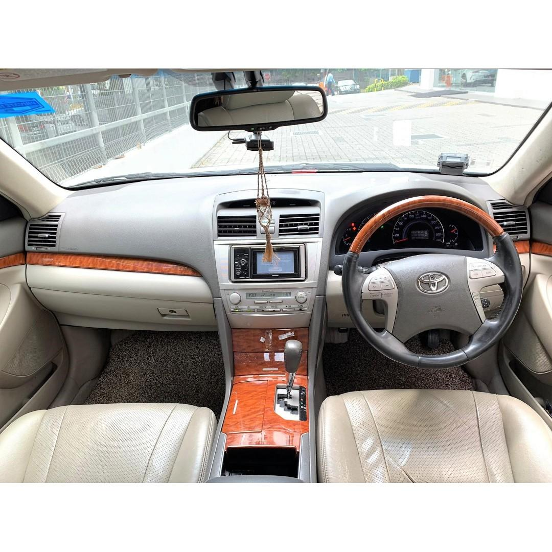 Toyota Camry 2.4A For PHV Go Jek Grab/ Personal Use cheap car rental