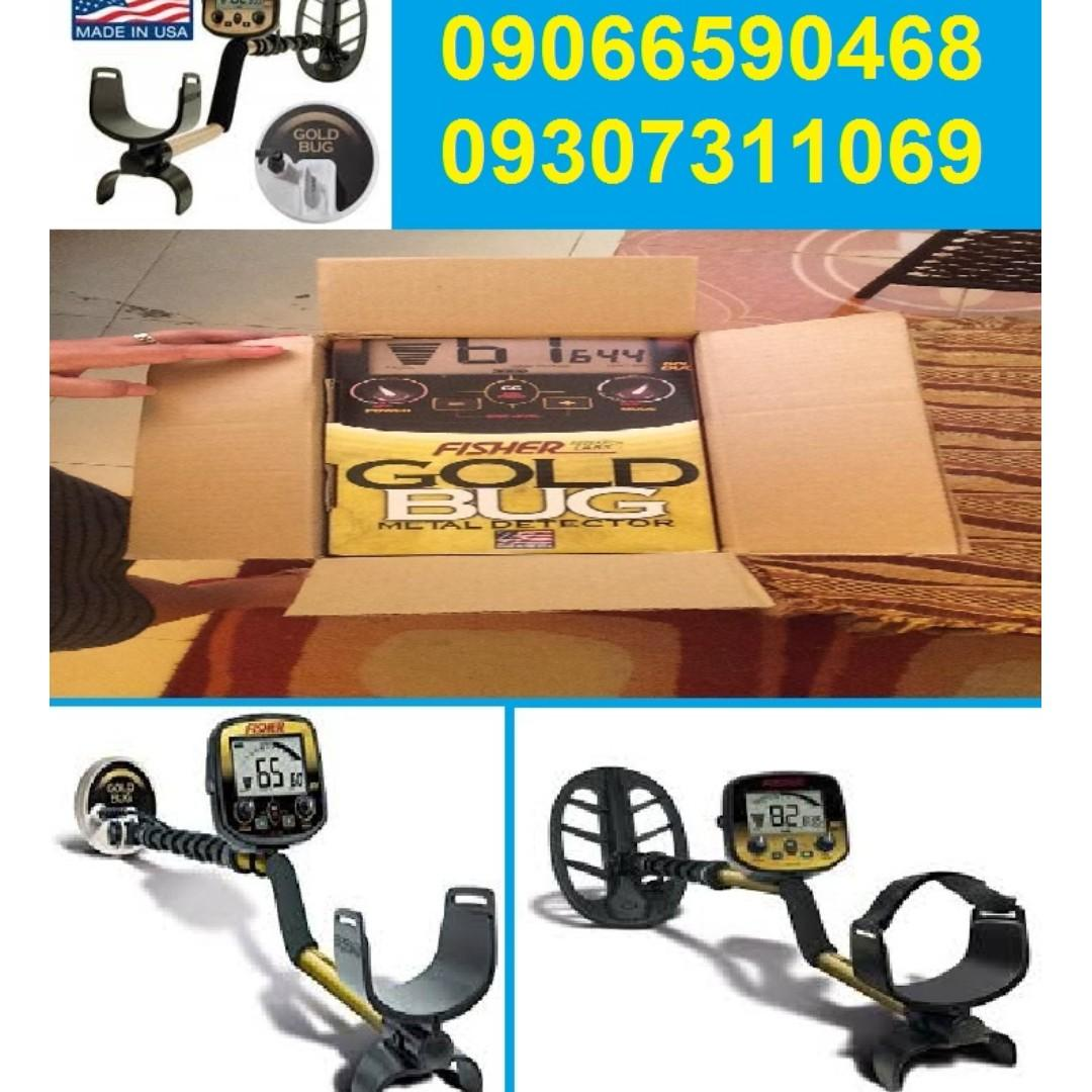 underground scanner gold and metal detector Fisher Gold Bug