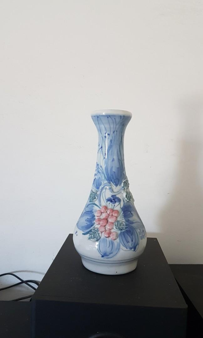 Vas Bunga Keramik Perabotan Rumah Di Carousell