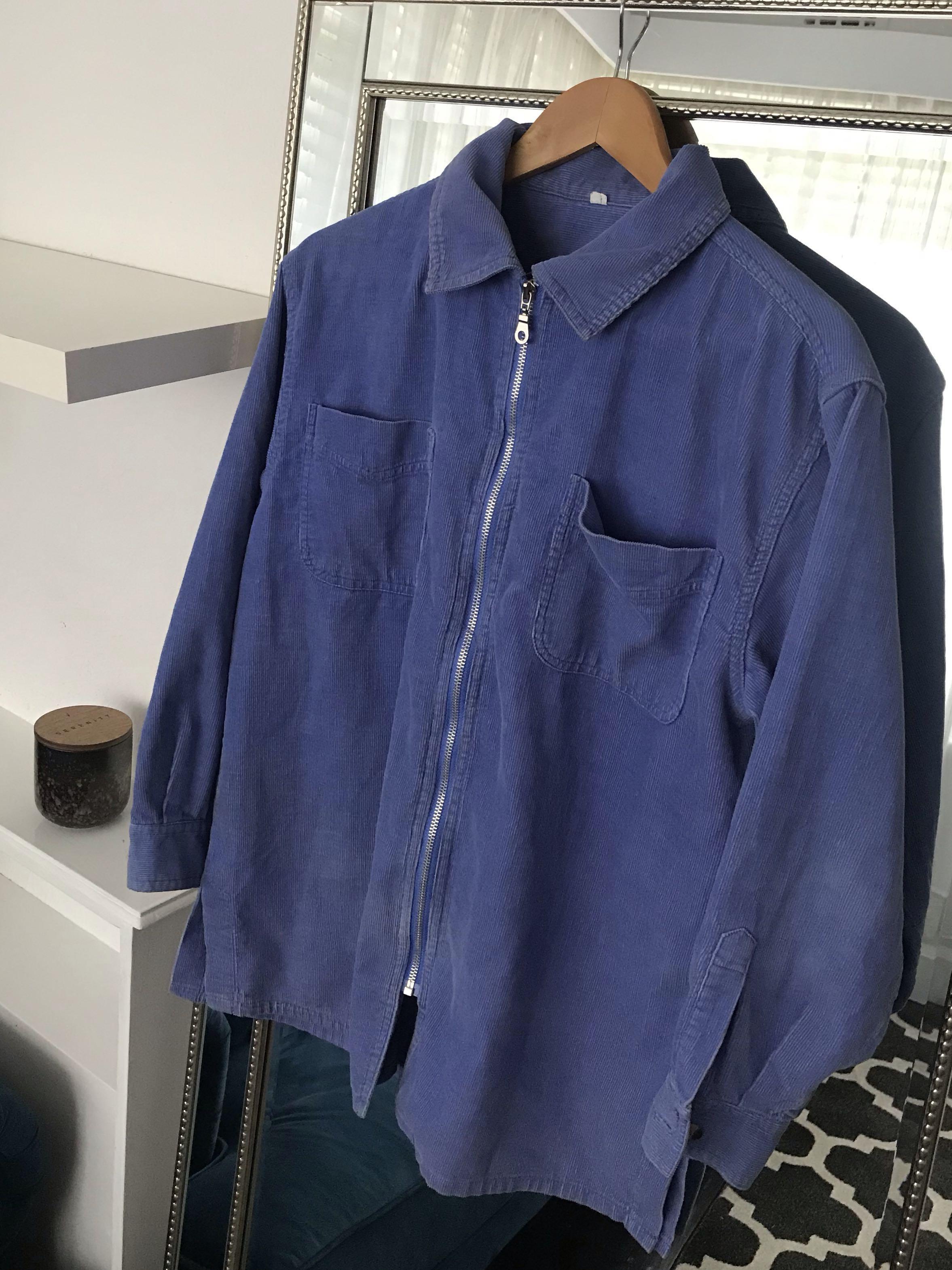 Vintage purple cord jacket