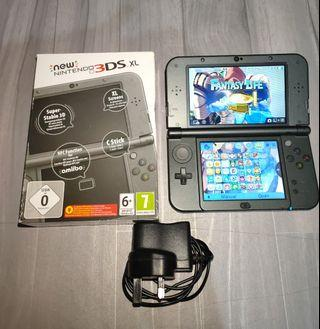 N3ds xl cfw with 32gb full of games