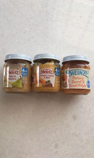 Heinz puree
