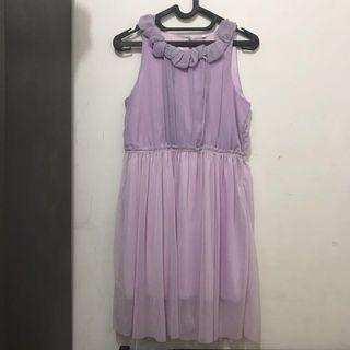 Dress BKK Chiffon Purple