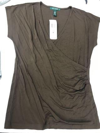 Ralph Lauren brown top