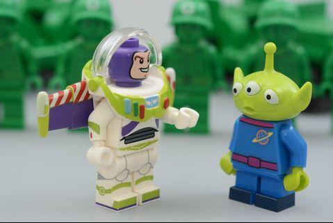 Lego Minifigs 巴斯光年及三眼仔