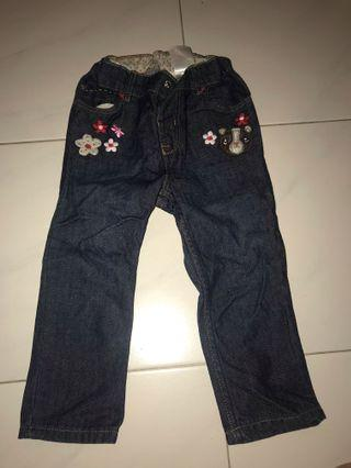 Preloved H&M Jeans 1.5-2 years old