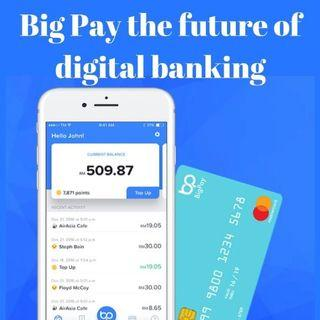 Big pay Sign Up and use my referrals code