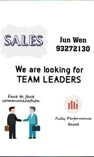 🚚 Sales Team Leaders *No exp req*