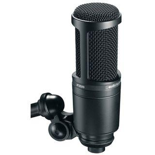 Audio Technica AT2020 Cardioid Condenser Microphone (AT-2020)