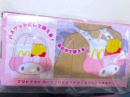 日本 泰國 限定 麥當勞 My Melody 汽車 野餐 食物桶 食物藍