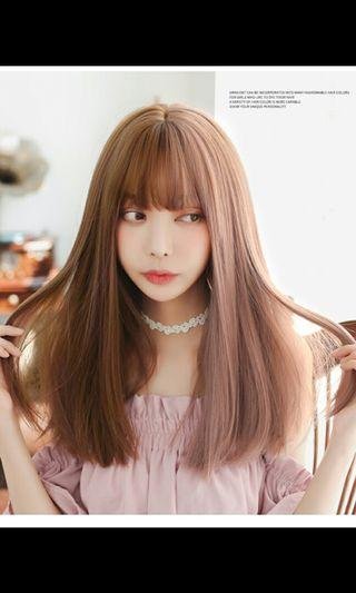 Instock lolita two tone gradient straight shoulder length wig*brand new in package *chat to buy if int