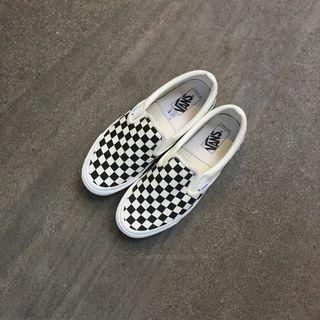 Vans Slipon Vault OG Checkerboard Black White