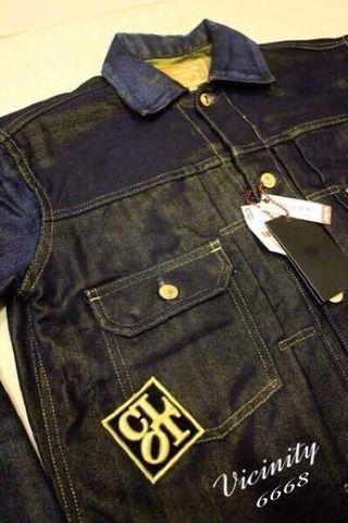 🚚 全新真品 CLOT X Levi's 金線 銅破壞 復刻 台灣限量 牛仔外套 507xx 冠希 荊棘
