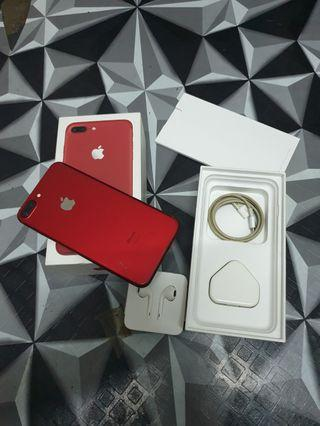 Iphone 7 Plus 128gb myset red products