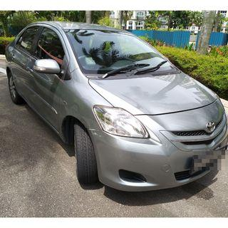 TOYOTA VIOS 1.5L WITH GOJEK REBATE - RELIABLE WORKHORSE, COMFORTABLE, ECONOMICAL, LOW FUEL CONSUMPTION