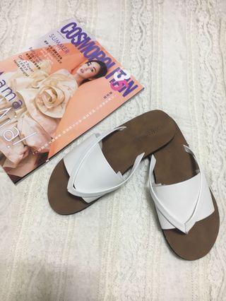 🆕全新白色涼鞋 Slipper