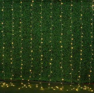Sale 3x3m warm fairy lights 16 vertical strings of lights