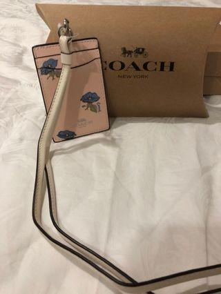 BN Coach Lanyard and Cardholder