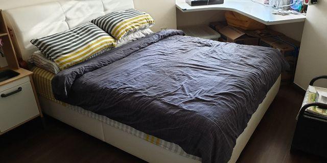Mattress and bedframe