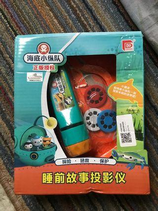 Mainan anak import bedtime story projector