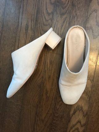 Oak & Fort Slip On Shoes Nude