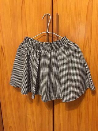 🚚 千鳥格褲裙