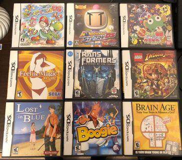 NDS games x13