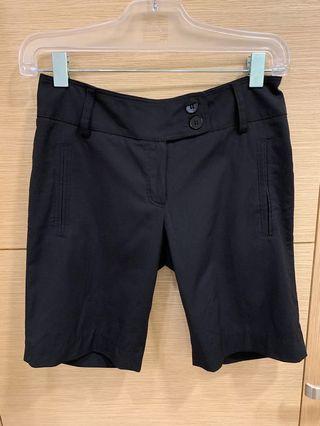 🚚 Mango 黑色短褲