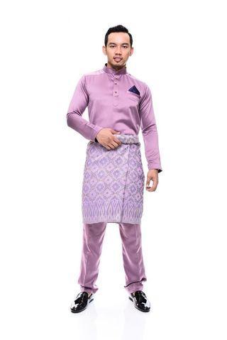 Baju Melayu Dull Satin