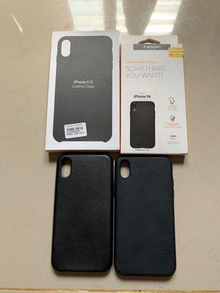 ✨SALE✨ Iphone Xr Case Spigen Liquid Air & Leather Case